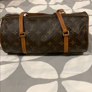 Authentic Louis Vuitton Papillon Purse Bag
